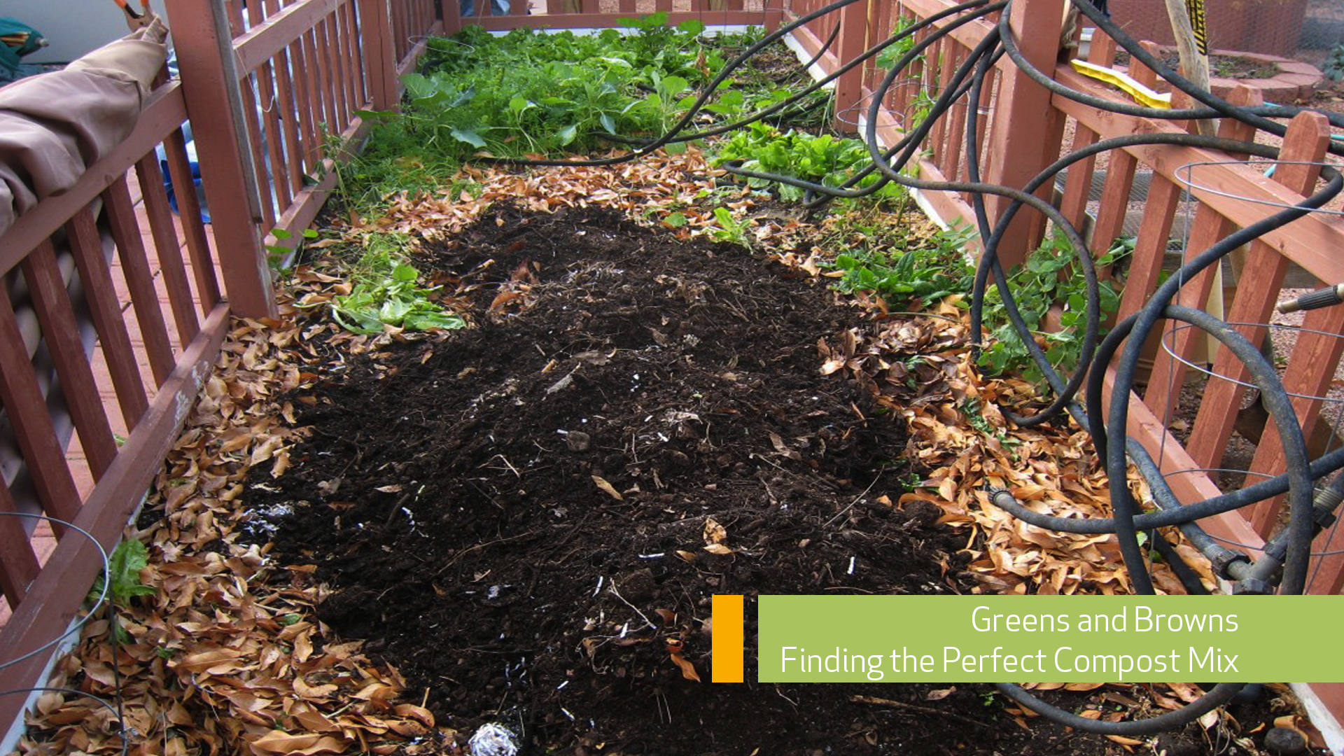 Greens and Browns Composting Mix Ratio Main